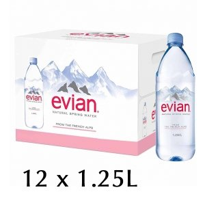 The French Grocer - Still Water - Evian - 12x125cl