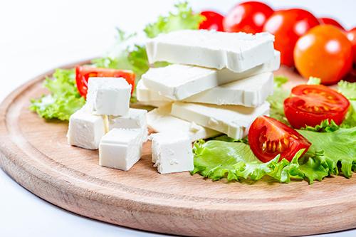 Feta cheese block