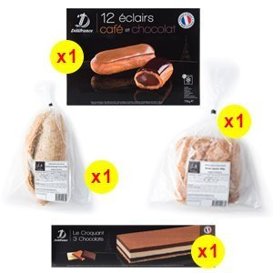 Delifrance Cakes Devotion Pack - The French Grocer