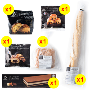 Delifrance Festive Morning Pack - The French Grocer