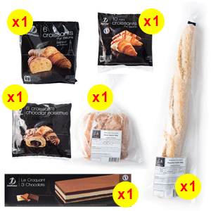 Delifrance Good Morning Pack - The French Grocer