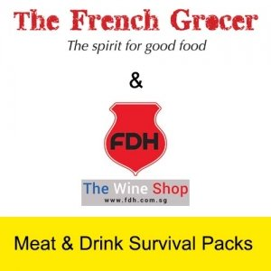 Meat & Drink Survival Packs - The French Grocer