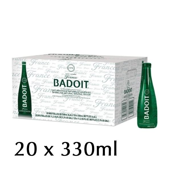 The French Grocer - Sparkling Water - Badoit Verte - 330ml - 2