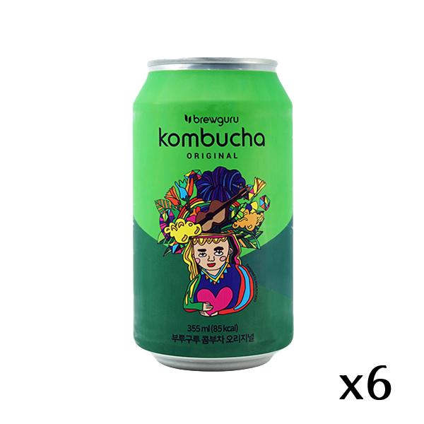 The French Grocer - Brewguru - Kombucha Green Tea Original