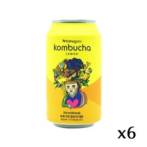 The French Grocer - Brewguru - Kombucha Lemon Original