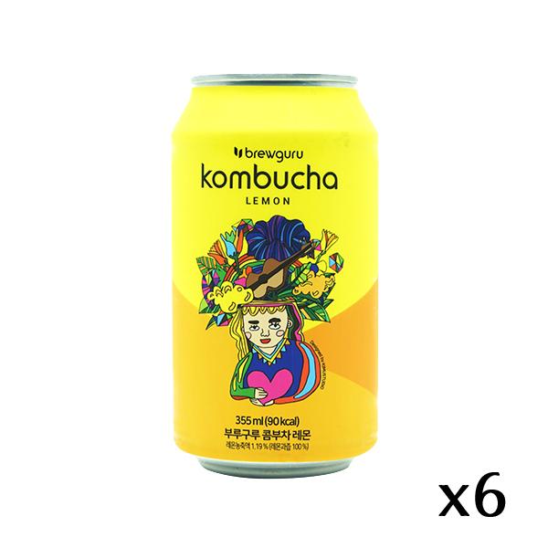 The French Grocer - Brewguru - Kombucha Lemon Original