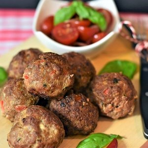 The French Grocer – Beef – Cooked Beef Meatballs - Platter