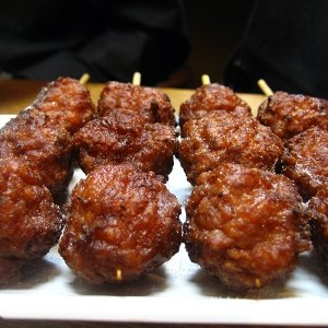 The French Grocer – Beef – Wagyu Beef Meatballs - Skewers