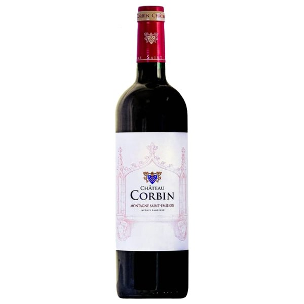 The French Grocer - Chateau Corbin - Bordeaux Red Wine - Blend - Montagne St Emilion