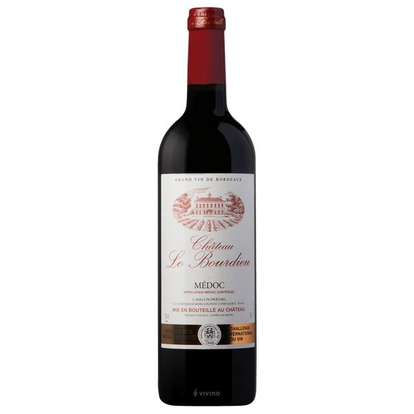 The French Grocer - Chateau le Bourdieu - Bordeaux Red Wine - Blend - Medoc Cru Bourgeois