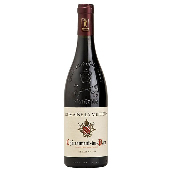 The French Grocer - Domaine de la Milliere - Rhone Valley Organic Red Wine - Blend - Châteauneuf-du-Pape