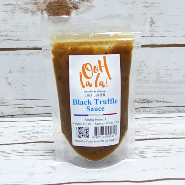 The French Grocer - Oohlala! de Chef Julien - Black Truffle Sauce - 1