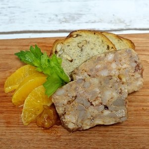 The French Grocer - Oohlala! de Chef Julien - Country Pate Duck Orange - 1