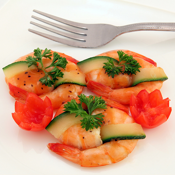 The French Grocer - Ocean Gems - Cooked Vannamei Prawns