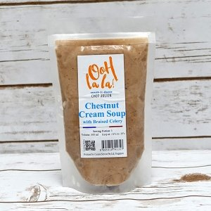 The French Grocer - Oohlala! de Chef Julien - Chestnut Cream Festive Soup - 1